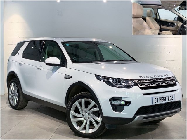 2017 67 LAND ROVER DISCOVERY SPORT SI4 HSE [PAN][7STR]