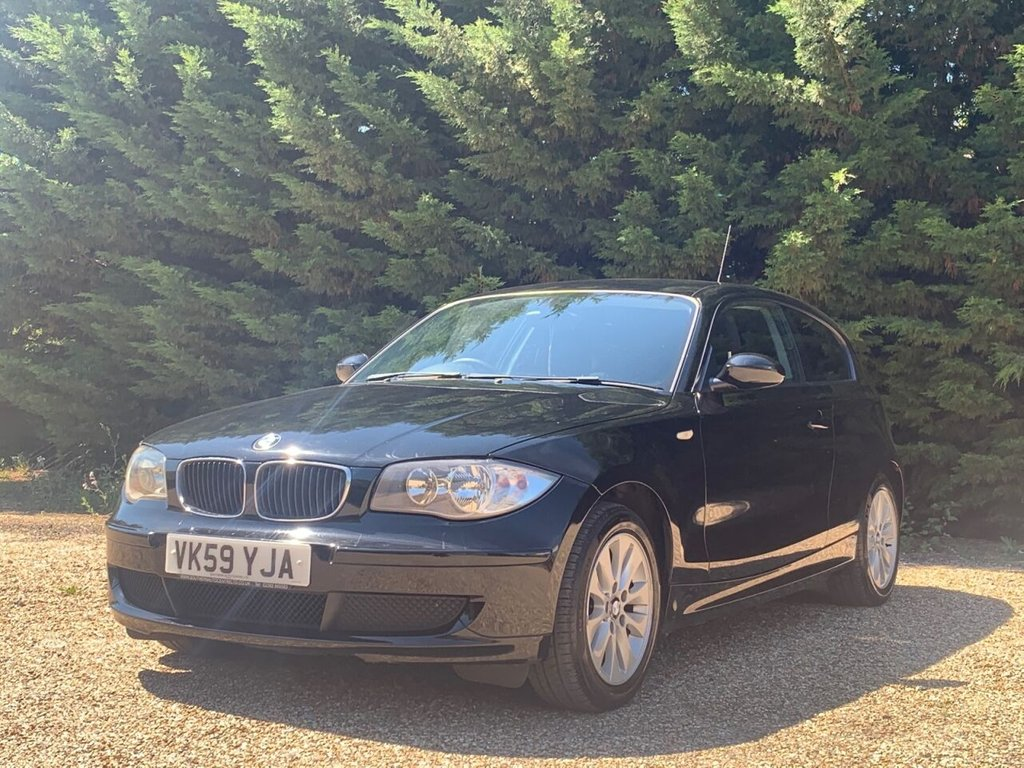 USED 2009 59 BMW 1 SERIES 2.0L 118D ES 3d 141 BHP