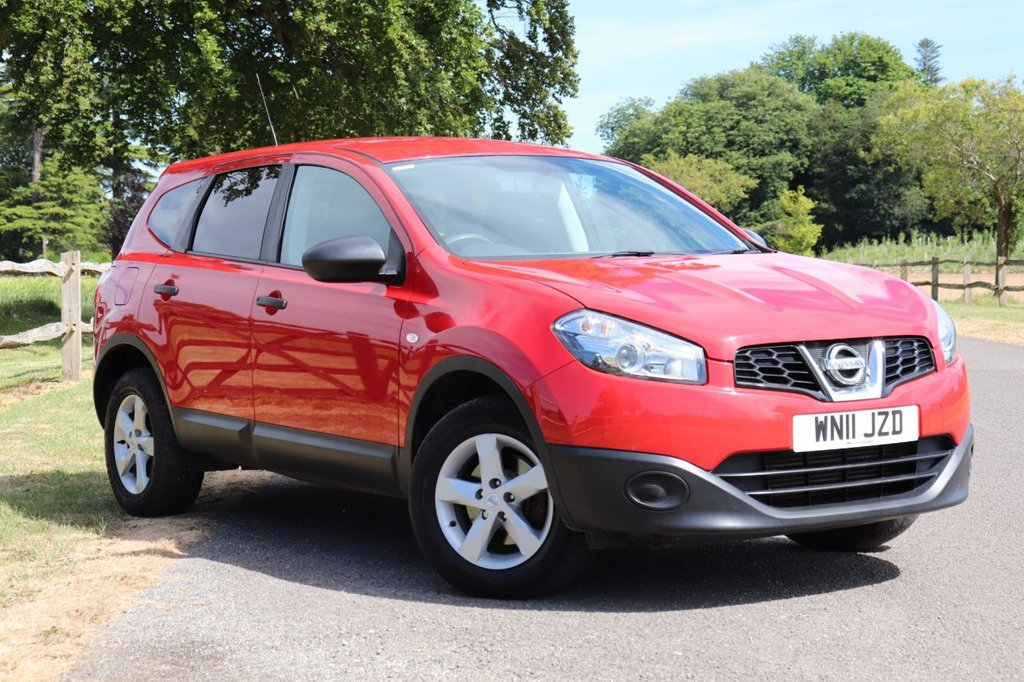 USED 2011 11 NISSAN QASHQAI+2 1.5 VISIA PLUS 2 DCI 5d 110 BHP Recently Service + Long Mot