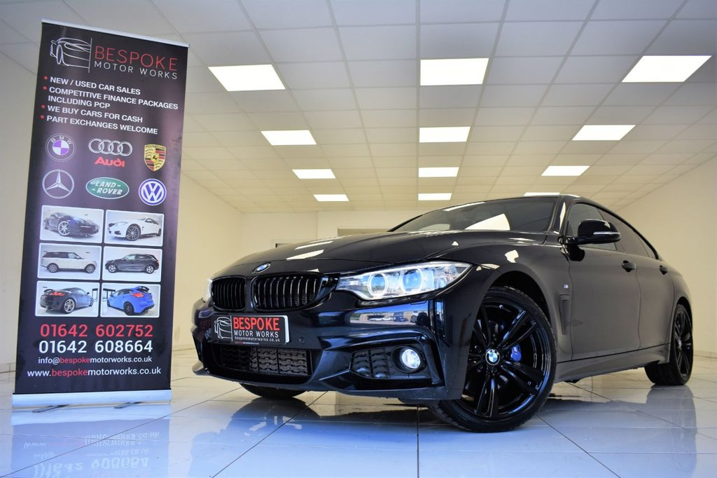 USED 2016 66 BMW 4 SERIES 420D M SPORT GRAN COUPE