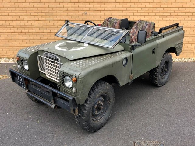 1971 LAND ROVER SERIES 11 Series 2a // 88 // Export // Px swap