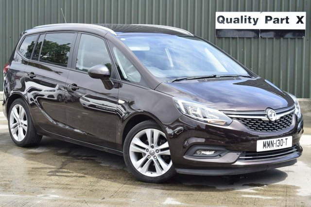 USED 2017 VAUXHALL ZAFIRA TOURER 1.4i Turbo SRi Tourer 5dr CALL FOR NO CONTACT DELIVERY