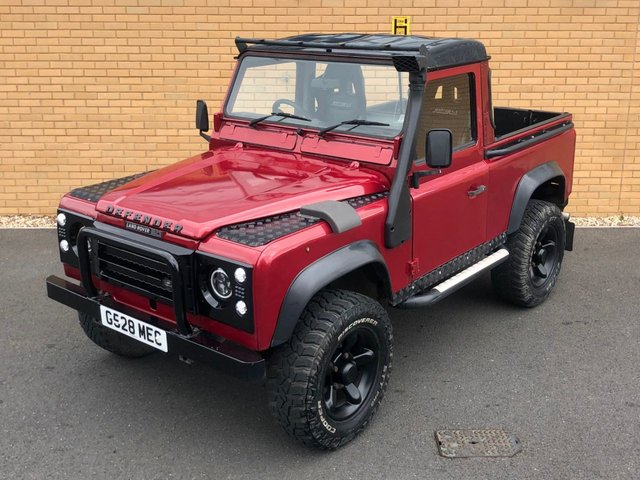 1989 G LAND ROVER DEFENDER 90 200TDI // 2.5L // PICK UP // EXPORT // Px Swap
