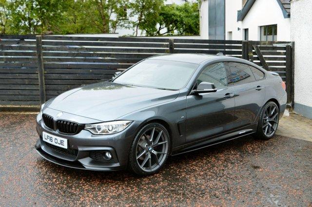 2016 16 BMW 4 SERIES 2.0 420D M SPORT GRAN COUPE 4d 190 BHP