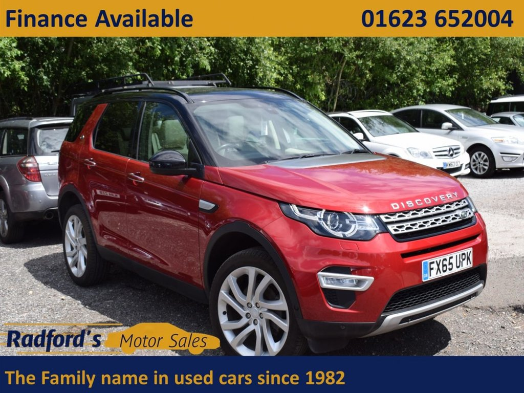 USED 2015 65 LAND ROVER DISCOVERY SPORT 2.0 TD4 HSE LUXURY 5d 180 BHP