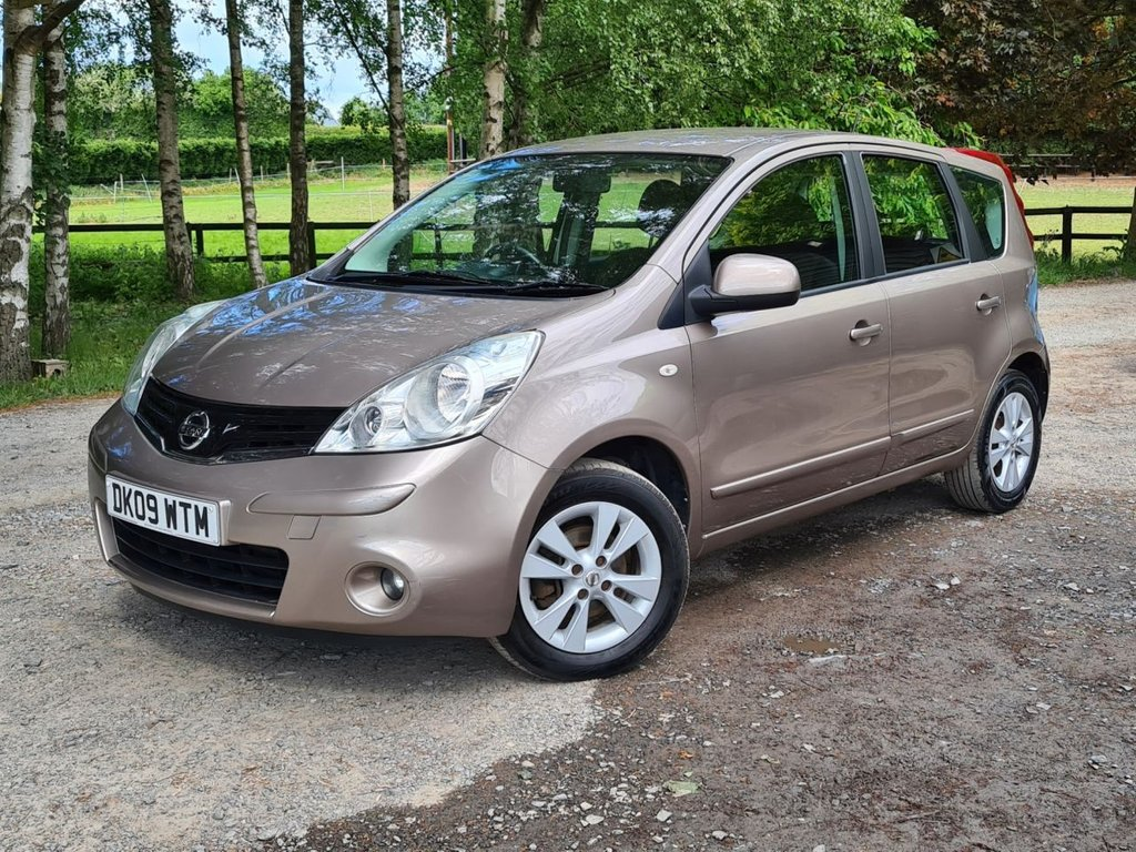USED 2009 09 NISSAN NOTE 1.4 ACENTA 5d 88 BHP +++GREAT SERVICE HISTORY+++
