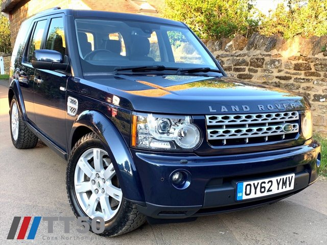 2012 62 LAND ROVER DISCOVERY 3.0 4 SDV6 HSE 5d 255 BHP