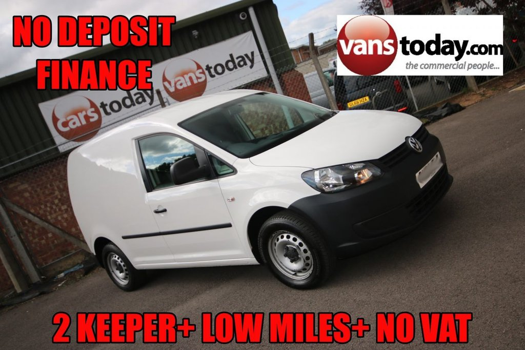 USED 2013 63 VOLKSWAGEN CADDY 1.6 C20 TDI STARTLINE 101 BHP + NO VAT 2 KEEPER + LOW MILES + NO VAT