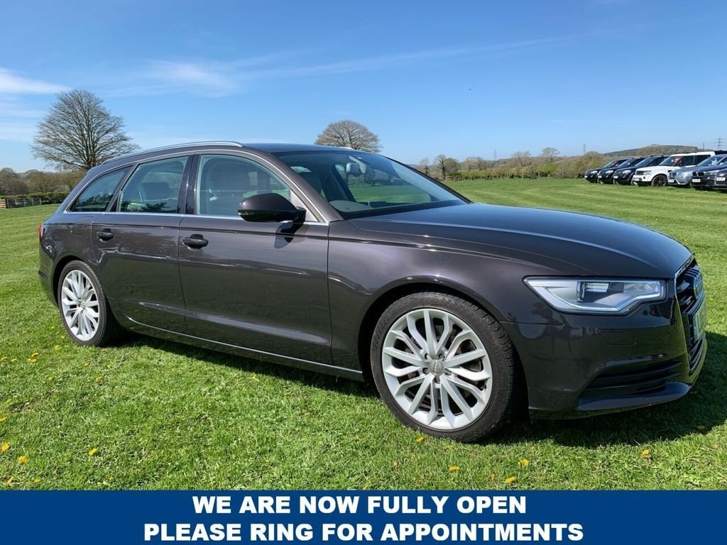 USED 2012 61 AUDI A6 3.0 AVANT TDI QUATTRO SE 5d 245 BHP Bluetooth : Sat Nav : DAB Radio    :    Full leather upholstery    :   Electric driver's seat    :    Heated front seats    : Optional paddleshift controls : Remotely operated tailgate : Front + rear parking sensors