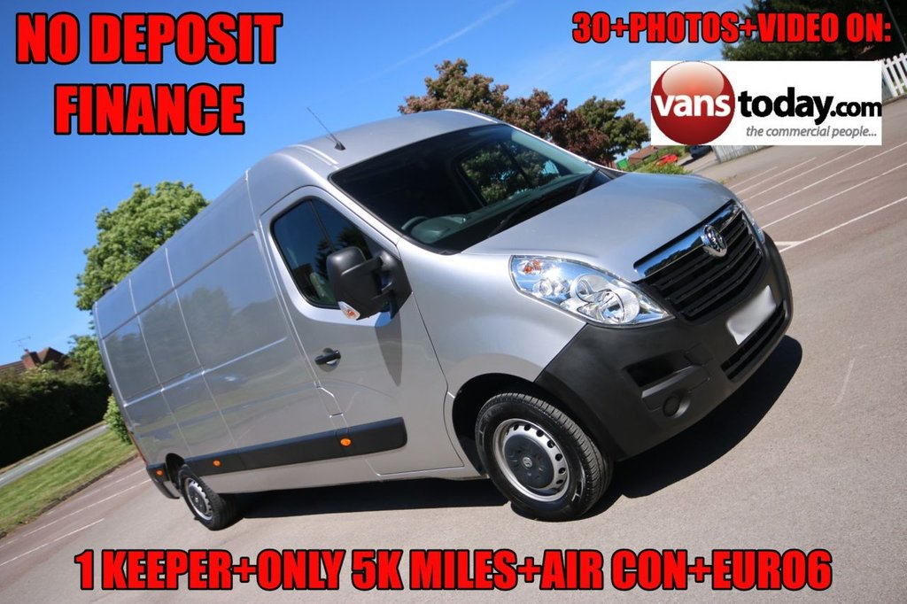 USED 2019 19 VAUXHALL MOVANO 2.3 L3H2 F3500 P/V 129 BHP + SAT NAV + AIR CON + ONLY 5K MILES! 1 KEEPER + AIR CON + SAT NAV + 5K MILES + WARRANTY