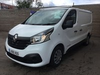 USED 2015 65 RENAULT TRAFIC 1.6 SL27 BUSINESS PLUS ENERGY DCI S/R P/V 120 BHP 1 OWNER