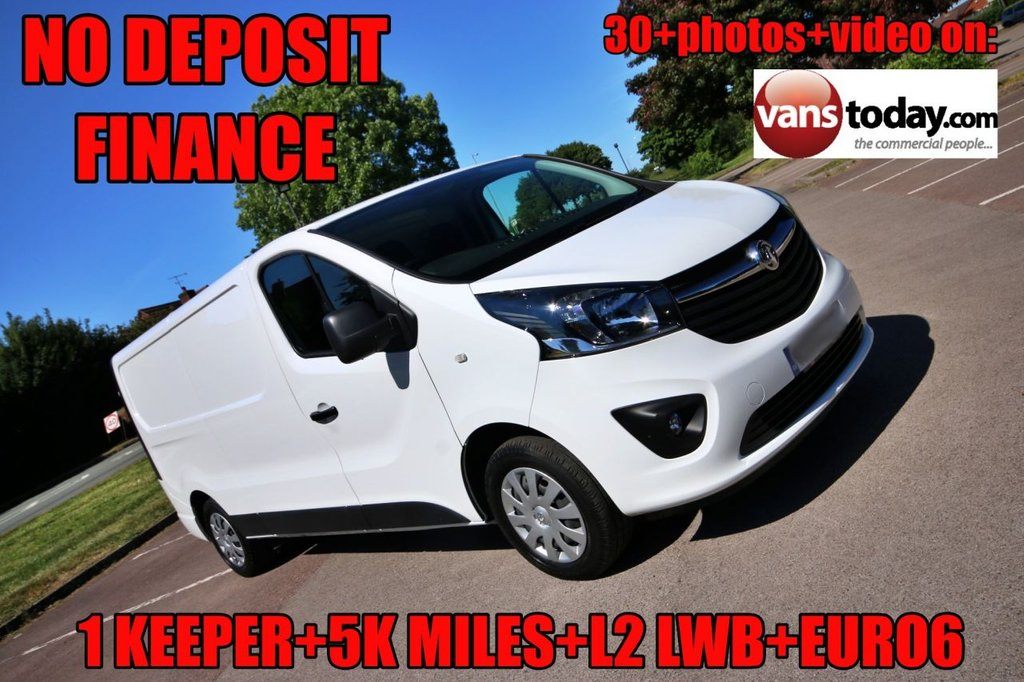 USED 2018 68 VAUXHALL VIVARO 1.6 L2H1 2900 SPORTIVE CDTI BITURBO S/S 125 BHP + BIG SPEC LOW MILES + GREAT SPEC + VAUXHALL WARRANTY +L2 LWB