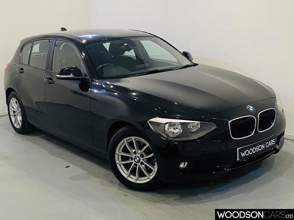 USED 2013 62 BMW 1 SERIES 1.6 116D EFFICIENTDYNAMICS 5d 114 BHP Bluetooth / Isofix / Aux / Auto Lights