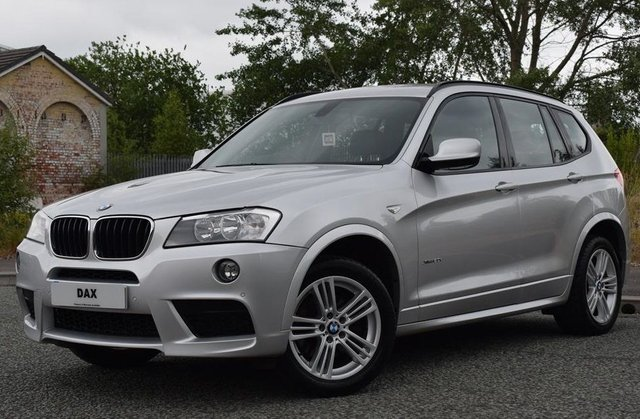 2013 62 BMW X3 2.0 XDRIVE20D M SPORT 5d 181 BHP