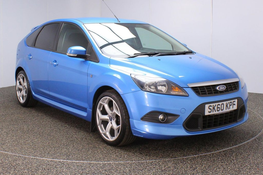 USED 2010 60 FORD FOCUS 1.6 ZETEC S S/S 5DR 113 BHP SERVICE HISTORY + BLUETOOTH + PRIVACY GLASS + AIR CONDITIONING + RADIO/CD/AUX + ELECTRIC WINDOWS + ELECTRIC MIRRORS + 18 INCH ALLOY WHEELS