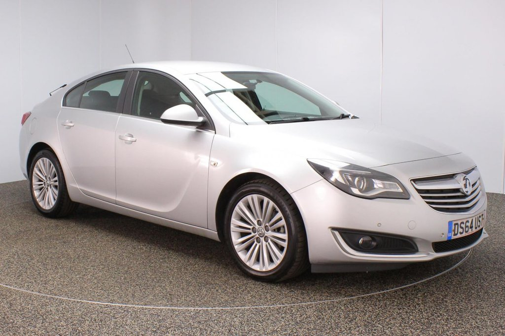 USED 2014 64 VAUXHALL INSIGNIA 2.0 DESIGN CDTI ECOFLEX S/S 5DR 138 BHP SERVICE HISTORY + PARKING SENSOR + BLUETOOTH + CRUISE  CONTROL + CLIMATE CONTROL + MULTI FUNCTION WHEEL + DAB RADIO + RADIO/CD/AUX/USB + XENON HEADLIGHTS + ELECTRIC WINDOWS + ELECTRIC/FOLDING DOOR MIRRORS + 18 INCH ALLOY WHEELS