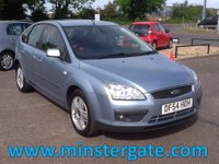 USED 2005 54 FORD FOCUS 1.6 GHIA 16V 5d 116 BHP * 69000 MILES, FULL HISTORY * 69000 MILES, FULL SERVICE HISTORY