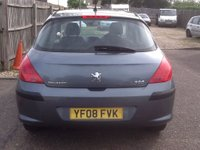 USED 2008 08 PEUGEOT 308 1.4 S 5d 94 BHP * ONLY 59000 MILES * ONLY 59000 MILES