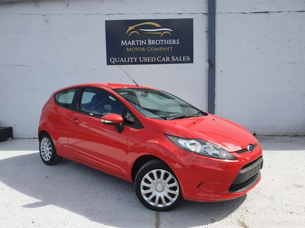 USED 2012 12 FORD FIESTA 1.2 EDGE 3d 59 BHP