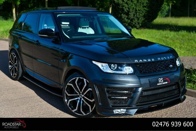 USED 2016 16 LAND ROVER RANGE ROVER SPORT 3.0 SD V6 HSE Dynamic 4X4 (s/s) 5dr OPEN PAN ROOF+7 SEATER+CAMERA