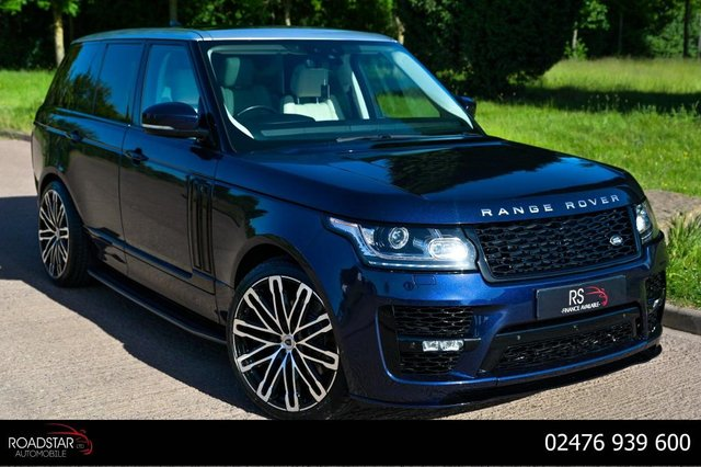 USED 2017 17 LAND ROVER RANGE ROVER 3.0 TD V6 Vogue Auto 4WD (s/s) 5dr NAV+PAN ROOF+CAMERA+SVO