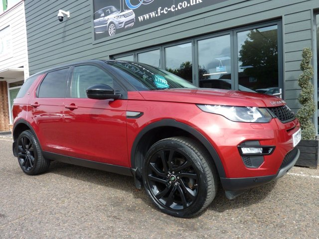 2017 67 LAND ROVER DISCOVERY SPORT 2.0 TD4 SE TECH 5d 180 BHP