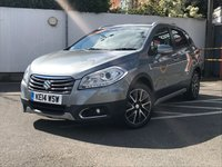 USED 2014 14 SUZUKI SX4 S-CROSS 1.6 SZ5 5d 118 BHP SAT NAV, PAN ROOF, LEATHER