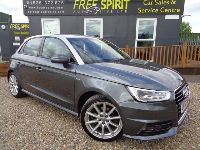 USED 2016 66 AUDI A1 1.6 TDI S line Sportback (s/s) 5dr 1 Owner, Sat Nav, Bluetooth
