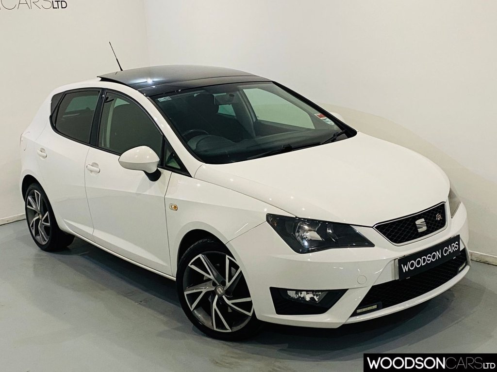 USED 2013 13 SEAT IBIZA 2.0 CR TDI FR 5d 141 BHP Sunroof / Aux / Isofix / Privacy Glass / Diamond Cut Alloy Wheels / 1 Previous Owner