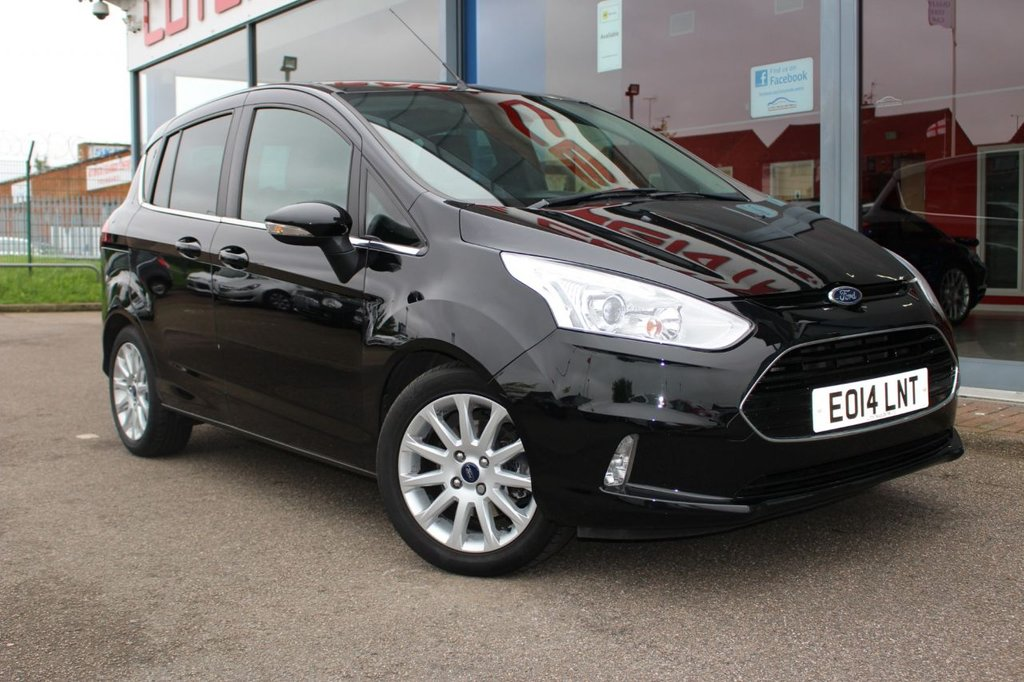 "USED 2014 14 FORD B-MAX 1.6 TDCi Titanium 5dr - 16"" ALLOYS, BLUETOOTH, PARKING SENSORS & DAB"