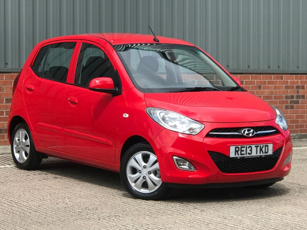 USED 2013 13 HYUNDAI I10 1.2 ACTIVE 5d 85 BHP YES ONLY 5800 MILES FROM NEW