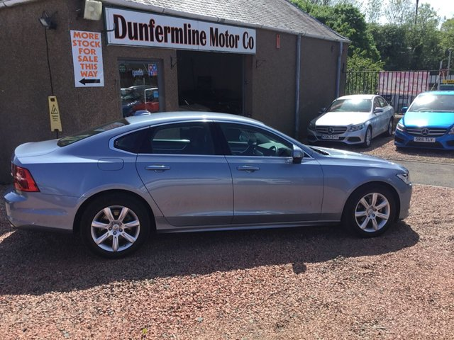 USED 2019 68 VOLVO S90 2.0 D4 MOMENTUM 4d 188 BHP ++I OWNER FROM NEW++