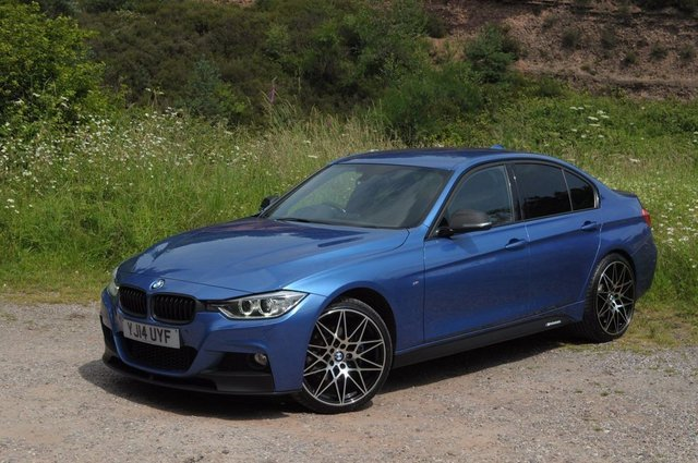 USED 2014 14 BMW 3 SERIES 2.0 320D XDRIVE M SPORT 4d 181 BHP COST NEW MORE THAN £39000
