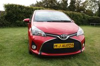 USED 2016 66 TOYOTA YARIS 1.3 VVT-I ICON TSS 5dr 99 BHP FINANCE AVAILABLE APPLY WITH US