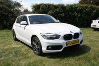 2017 BMW 1 SERIES 2.0 118D SPORT 5dr ULEZ COMPLIANT £11995.00