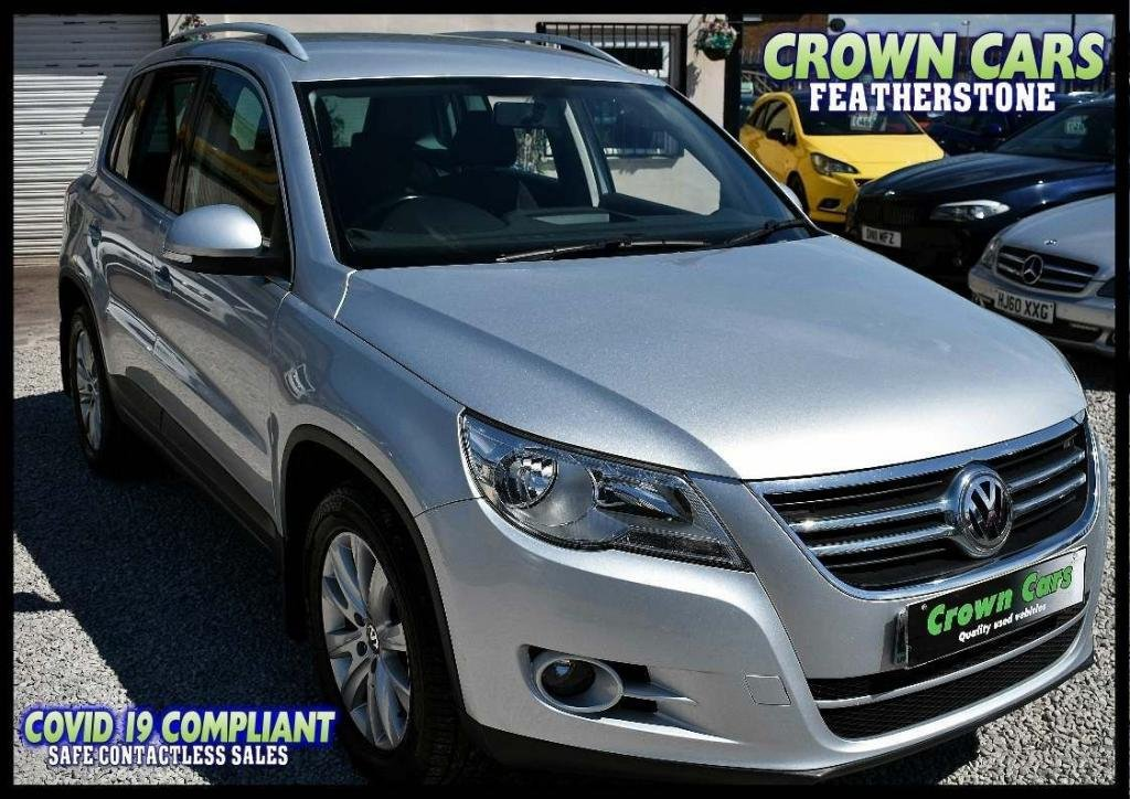 USED 2009 VOLKSWAGEN TIGUAN 2.0 TDI SE 2WD 5dr AMAZING LOW RATE FINANCE DEALS
