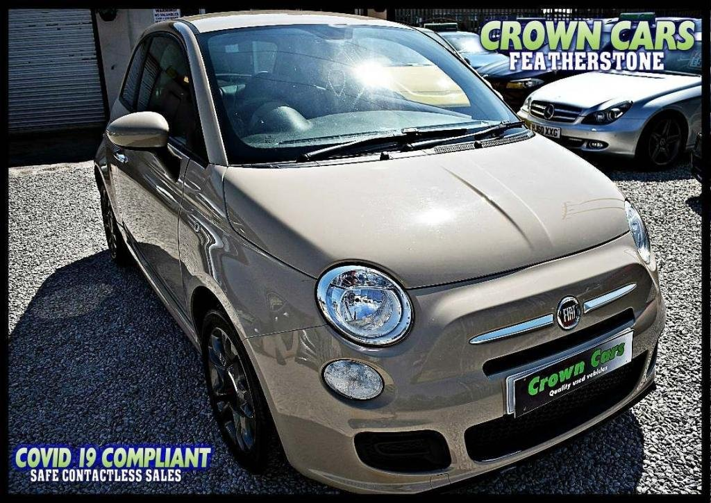 USED 2014 64 FIAT 500 1.2 S (s/s) 3dr AMAZING LOW RATE FINANCE DEALS