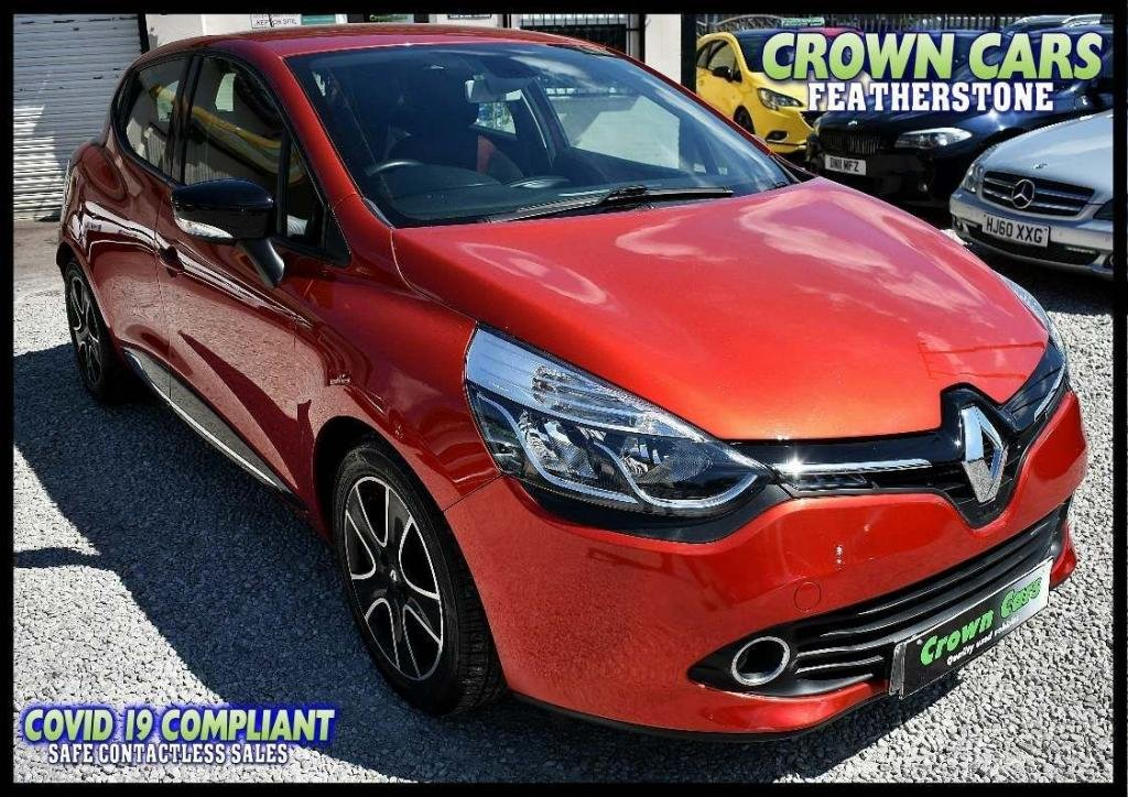 USED 2015 15 RENAULT CLIO 1.5 dCi ENERGY Dynamique MediaNav (s/s) 5dr AMAZING LOW RATE FINANCE DEALS