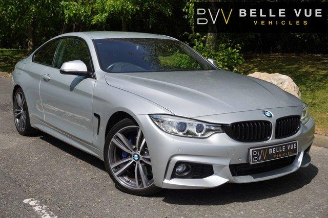 USED 2016 66 BMW 4 SERIES 2.0 420D M SPORT 2d 188 BHP *M SPORT PLUS, DAB, LEATHER*