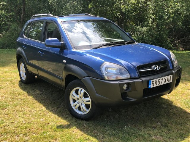 USED 2007 57 HYUNDAI TUCSON 2.0 CDX CRTD 2WD 5d 139 BHP AUTOMATIC LOW MILEAGE, MANY EXTRAS.FINANCE ME TODAY-UK DELIVERY POSSIBLE
