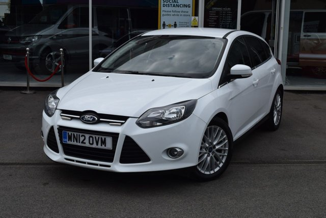 USED 2012 12 FORD FOCUS 1.6 ZETEC TDCI 5d 113 BHP FINANCE TODAY WITH NO DEPOSIT.  SERVICE HISTORY - FIVE STAMPS