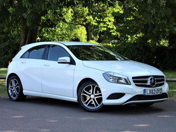 2013 MERCEDES-BENZ A-CLASS 1.6 A180 BLUEEFFICIENCY SPORT 5d 122 BHP £10395.00