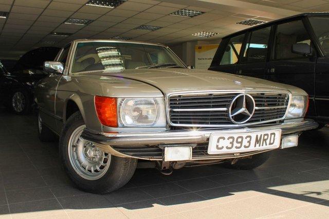 1985 C MERCEDES-BENZ SL 2.7 280 SL 2d 185 BHP