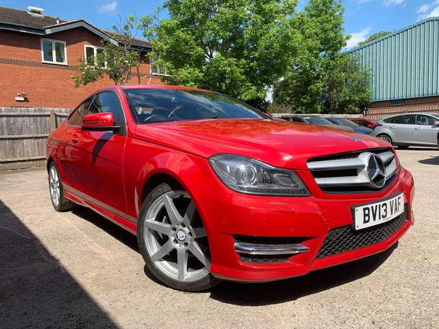 USED 2013 13 MERCEDES-BENZ C-CLASS 2.1 C220 CDI BLUEEFFICIENCY AMG SPORT 2d 170 BHP
