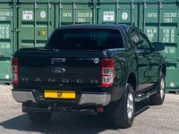 USED 2014 14 FORD RANGER 2.2 TDCi Limited Double Cab Pickup 4x4 4dr (EU5) NOVAT/Cruise/Privacy/Leathers