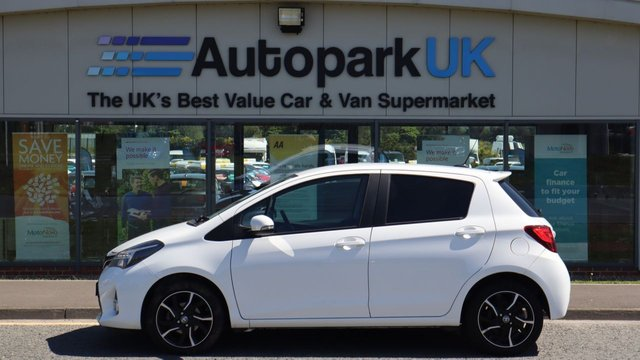 USED 2015 15 TOYOTA YARIS 1.3 VVT-I SPORT 5d 99 BHP LOW DEPOSIT OR NO DEPOSIT FINANCE AVAILABLE