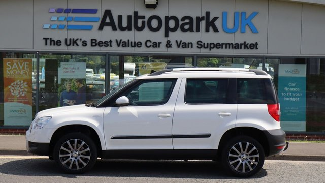 USED 2013 13 SKODA YETI 2.0 LAURIN AND KLEMENT TDI CR 5d 170 BHP LOW DEPOSIT OR NO DEPOSIT FINANCE AVAILABLE