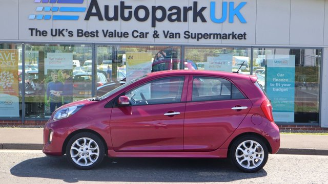 USED 2016 16 KIA PICANTO 1.2 3 5d 84 BHP LOW DEPOSIT OR NO DEPOSIT FINANCE AVAILABLE