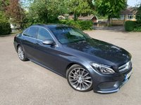 USED 2015 15 MERCEDES-BENZ C-CLASS 2.0 C200 AMG LINE PREMIUM PLUS 4d 184 BHP Full Mercedes History, MOT 05/21 Full Mercedes Benz Service History, MOT 05/21, Recent Service, Unmarked 19in Amg Alloys, Burmester Sound Package Upgrade, Very Rare Colour Combo, Full Opening Glass Panoramic Roof With With Electric Sunblind, Sat Nav, Bluetooth Handsfree And Media Streaming, Power Opening And Closing Bootlid, Reverse Camera, Front And Rear Parking Sensors, X4 Matching Runflat Bridgestone Tyres, Front Memory Seats, Heated + Electric Adjust Seats, Auto Lights On, Auto Wipers, Dimming Mirrors, Power Folding Mirrors