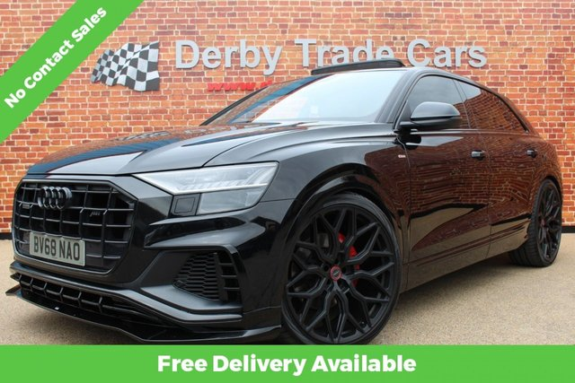 AUDI Q8 at Derby Trade Cars